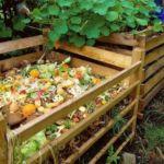 Вариант компостной ямы из досок