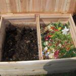 Деревянная компостная яма
